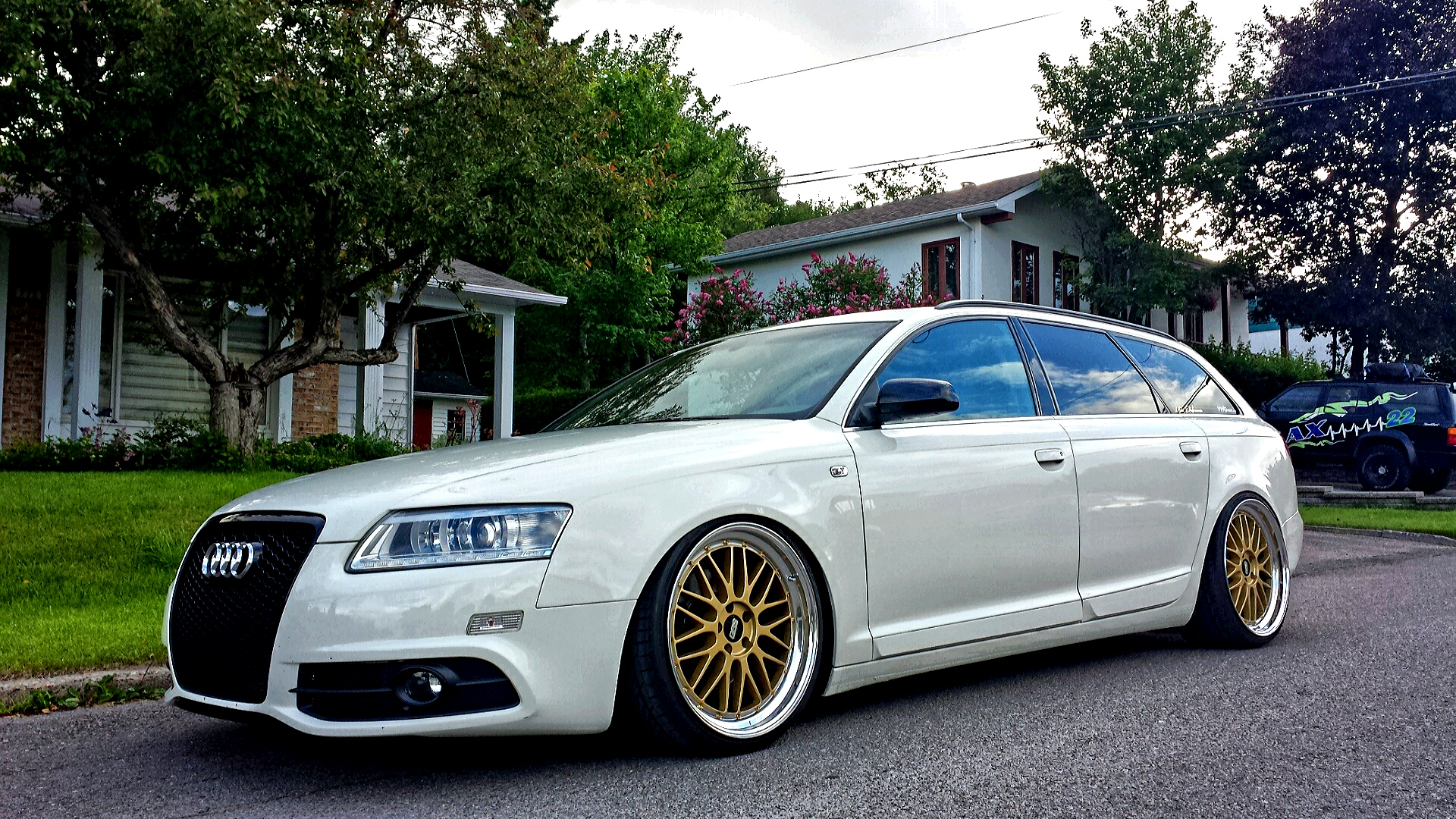 Audi A6 C6 Bbs Sx R19: Where The Beef? Show Your Fat, Stanced Avant!